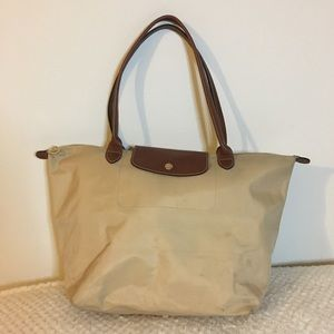 Longchamp Bag (Tan)